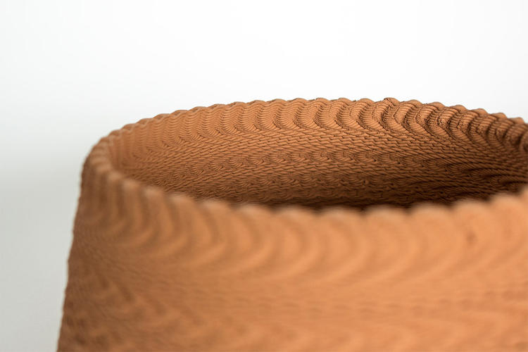These Gorgeous Ceramics Are Made By Blasting Music Below A 3-D Printer | Co.Design | business + design