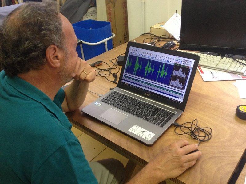Paolo Bonelli impegnato nel progetto Voice Instruments di Giulio