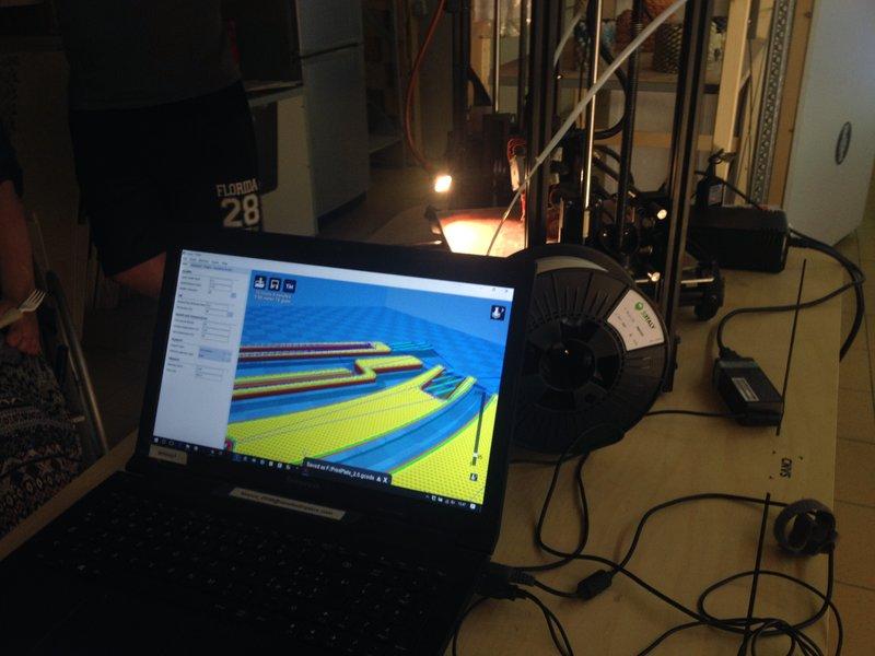 Il progetto 3D pronto per la stampa