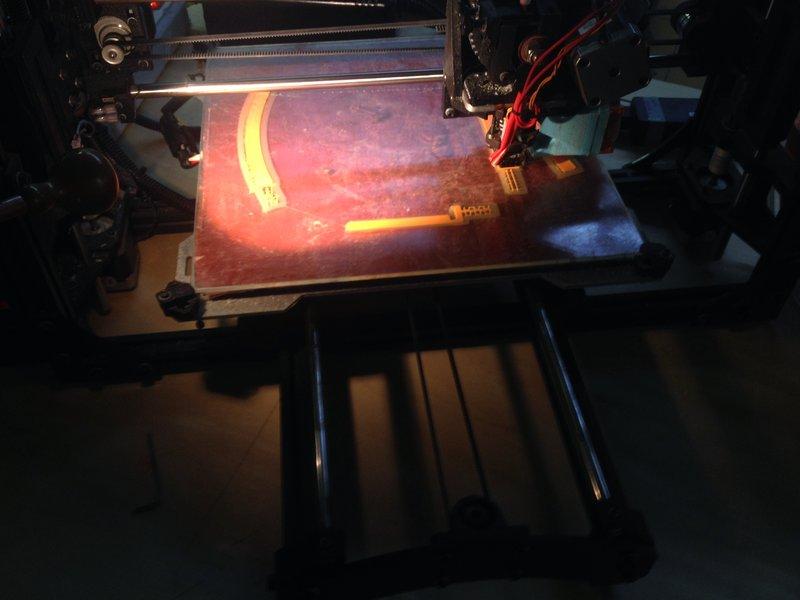 La stampa del prototipo