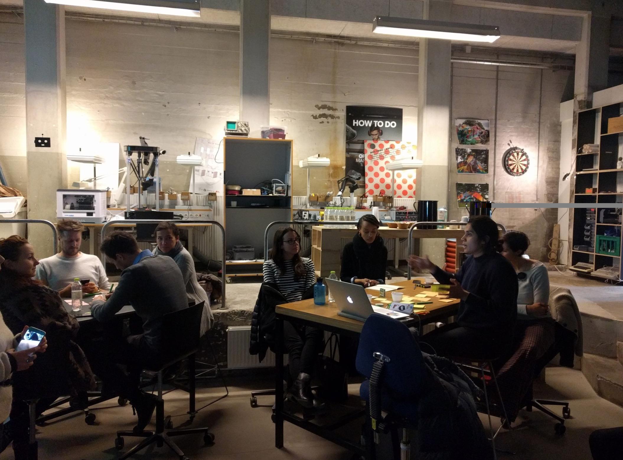 Workshop DSI presso Underbroen a Copenhagen nel 2017