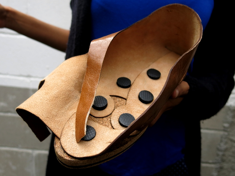 La scarpa che facilita l'utilizzo di plantari ortopedici