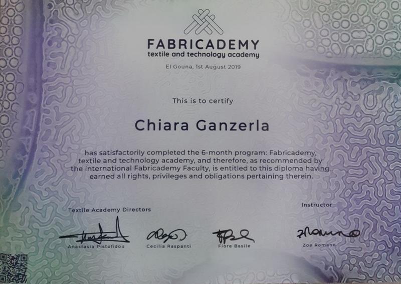 Fabricademy 2019-2020, corso transdisciplinare