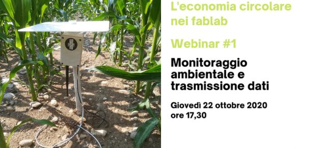 Webinar Monitoraggio ambientale e trasmissione dati
