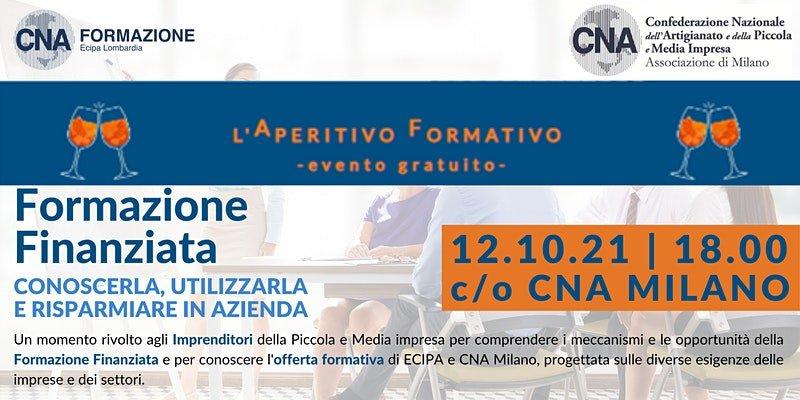 Aperitivo formativo promosso da CNA Milano