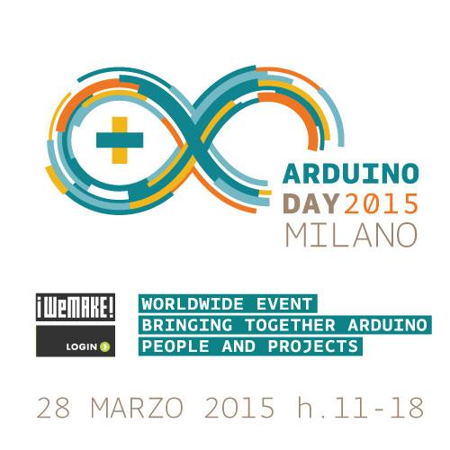 Programma Arduino day 2015 Milano