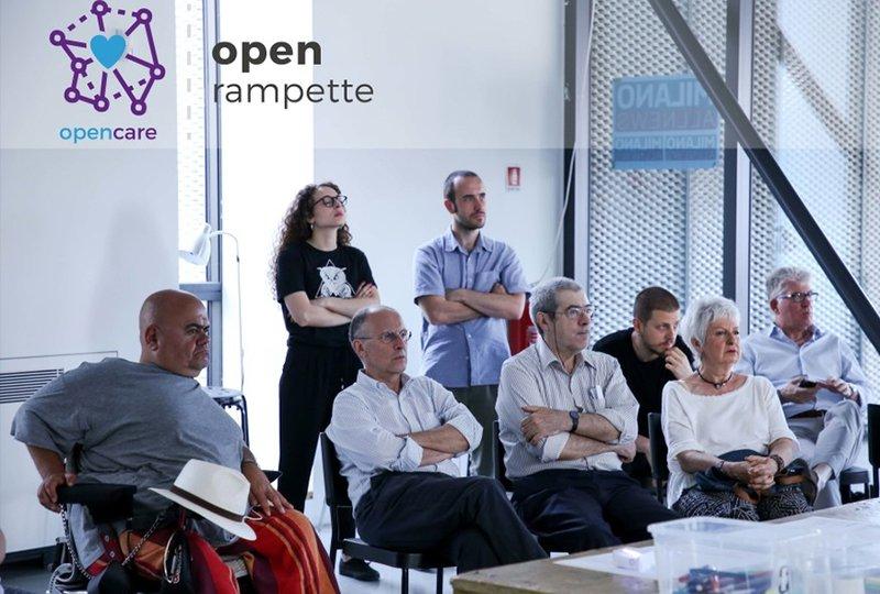 Presentazione del progetto Open Rampette-opencare