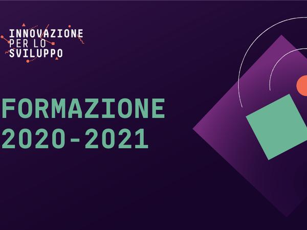 Innovazione per lo Sviluppo, proposta formativa 2020-2021