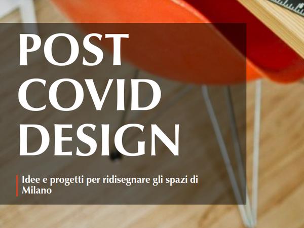 Bando Post Covid Design del Comune di Milano