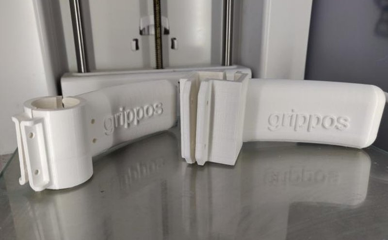 Stampa 3d dell'apriporta Grippos