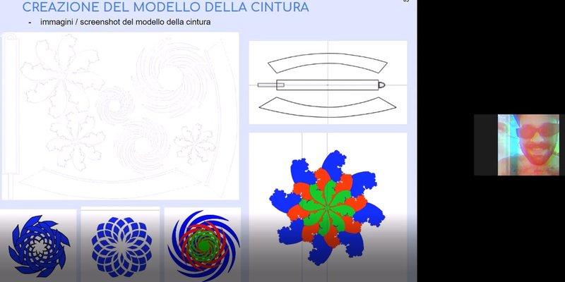 Progetto Interpolazioni di spirali - corso Digital Fashion Making