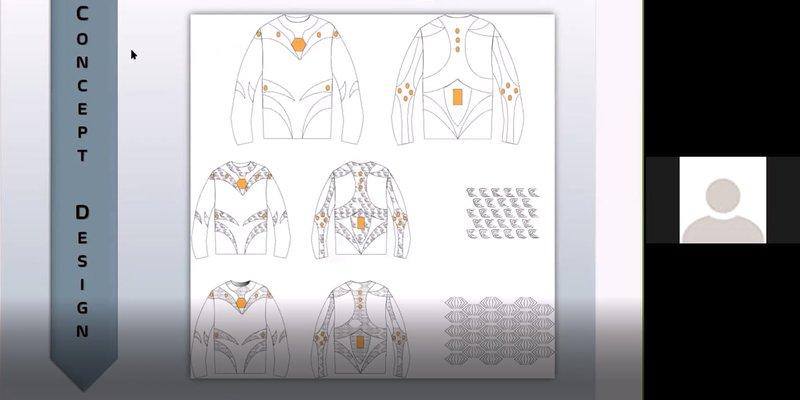 Progetto i-skin - corso Digital Fashion Making
