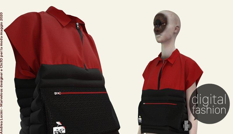 Corso Modellistica 3D con Marvelous Designer