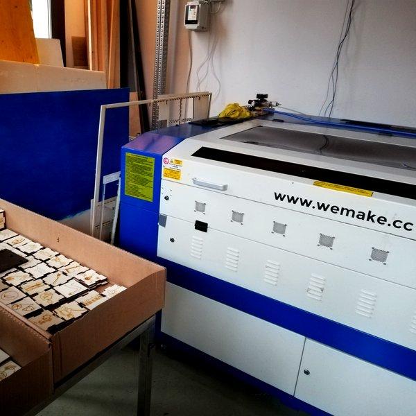 La lasercutter di WeMake