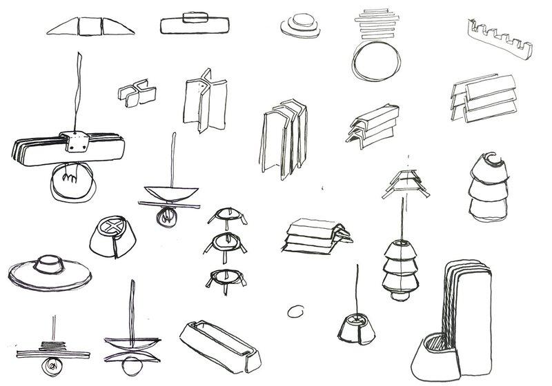 Fab City Residency ! sketches del designer Vicente Varella